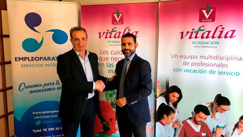 Vitalia crea puestos de trabajo para personas con diversidad funcional